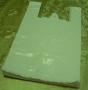LDPE tašky koš. Biele 30 x 9 x 48cm x 0,035u