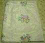 PVC obrus s textilom  priemer 140cm 180u
